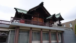 宇喜田稲荷神社 社殿全景