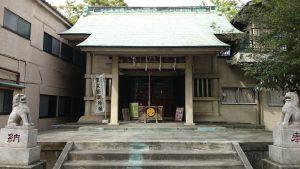 志演尊空神社 拝殿