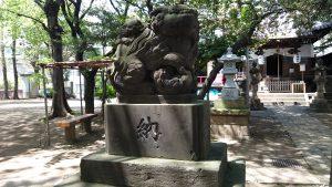 八景天祖神社 (神明山天祖神社) 狛犬 (1)