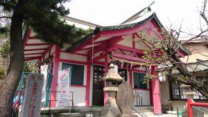 富賀岡八幡宮 拝殿