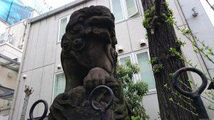 高山稲荷神社 慶應元年奉納狛犬 (2)