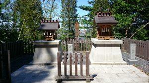 穴澤天神社 神明神社・山王神社
