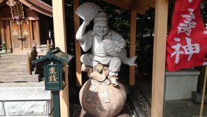 雑司が谷大鳥神社 西宮神社 恵比寿神像