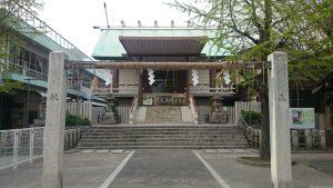 深川神明宮 拝殿