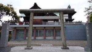宇喜田稲荷神社 東側鳥居