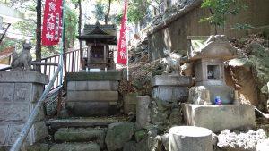 八景天祖神社 (神明山天祖神社) 摂社伏見稲荷社・稲荷石社 社殿