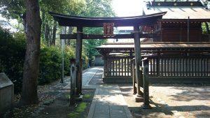 八幡大神社 北側鳥居