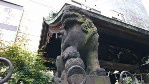 高山稲荷神社 慶應元年奉納狛犬 (1)