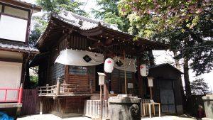 八景天祖神社 (神明山天祖神社) 拝殿