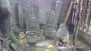大森山王日枝神社 庚申塔