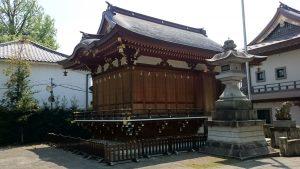 八幡大神社 神楽殿