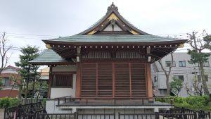 宇喜田稲荷神社 神楽殿