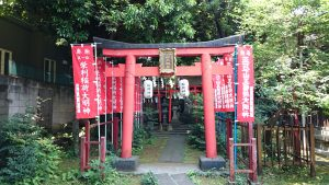大森山王日枝神社 境内社鳥居 (1)