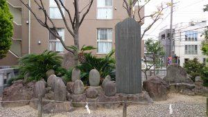 宇喜田稲荷神社 力石群
