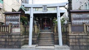 高山稲荷神社 鳥居