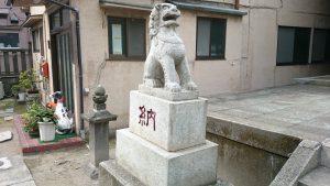 志演尊空神社 狛犬 (1)