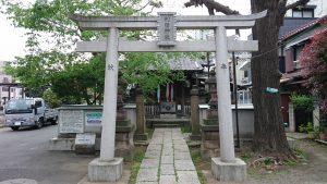 利田神社 鳥居