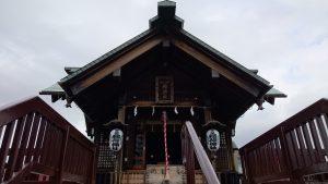 宇喜田稲荷神社 拝殿