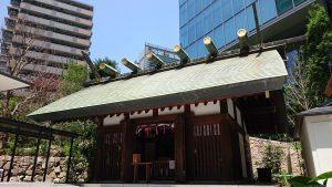 六本木天祖神社(龍土神明宮) 拝殿