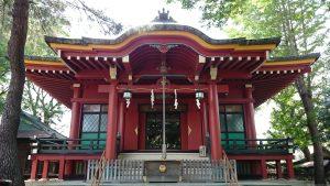 馬込八幡神社 拝殿