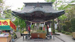 笠間稲荷神社 手水舎