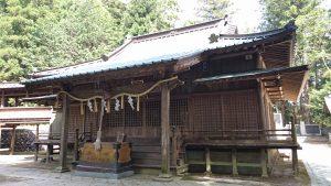 稲田神社 拝殿