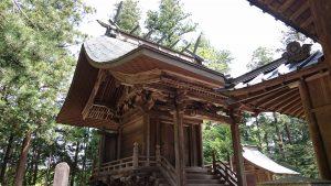 稲田神社 本殿