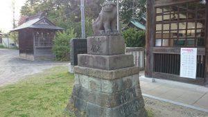 吉田神社 狛犬 (1)