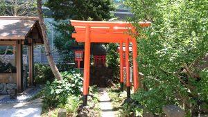 六本木天祖神社(龍土神明宮) 満福稲荷社 (1)