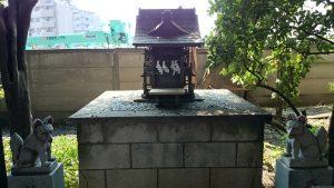 馬込八幡神社 子育稲荷神社 (2)