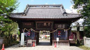 笠間稲荷神社 東門