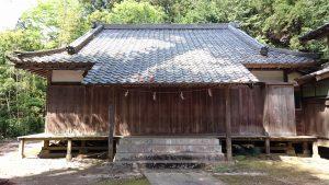 稲田神社 神楽殿