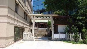 六本木天祖神社(龍土神明宮)  鳥居