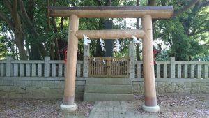吉田神社 日本武尊御遺蹟 鳥居