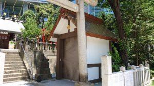 六本木天祖神社(龍土神明宮)  神輿庫