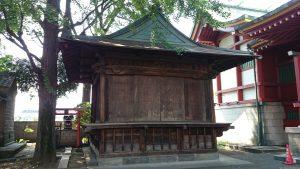 馬込八幡神社 神楽殿