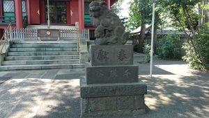 馬込八幡神社 狛犬 (2)