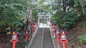 吉田神社 参道石段
