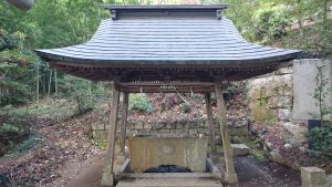 稲田神社 手水舎