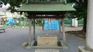 東八幡神社 手水舎