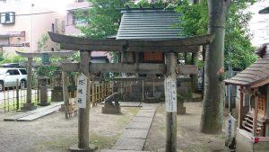 亀有香取神社 招魂社 鳥居