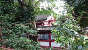 中野氷川神社 本殿