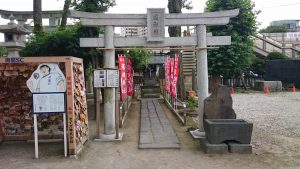 亀有香取神社 道祖神社 鳥居