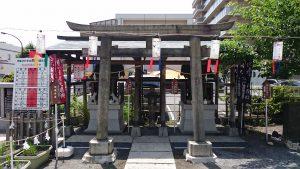 亀戸浅間神社 大正7年境内社鳥居