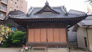 亀有香取神社 神楽殿