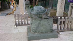 亀有香取神社 神亀像 阿