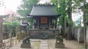 亀有香取神社 招魂社 社殿