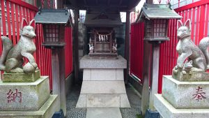 大田区矢口氷川神社 三社稲荷 (2)