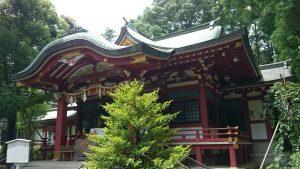 中野氷川神社 拝殿
