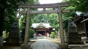 中野氷川神社 三の鳥居